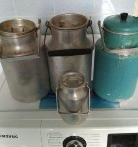 Бидоны советские 3 литра, алюминий