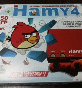 Игровая приставка Денди+Сега 350 игр Хами Hamy