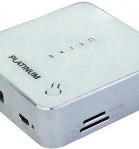 Роутер 3G WiFi / Резервный аккумулятор 5000 mAh