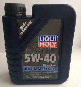 Масло моторное LIQUI MOLY 5W-40 .Синтетика .