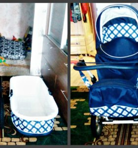 Детская коляска 2 в 1 Lonex Bergamo
