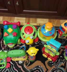 Игрушки Fisher Price, Kiddieland, Playskool
