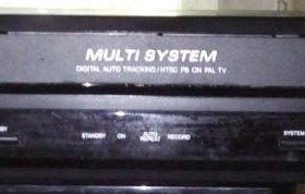 Видеоплеер Funai, 200 кассет, 2 в/п на з/ч
