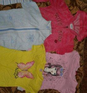 Одежда для девочки 5-6 лет (116-122).
