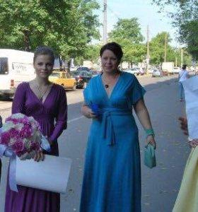 Платье бирюзовое 46-48