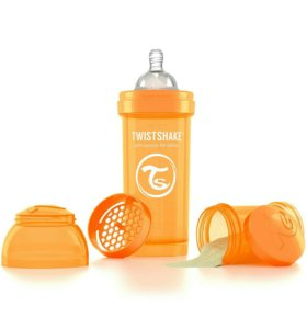 Бутылочка для кормления Twistshake 0+(+подарок)