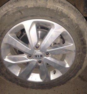 Диск колесный легко сплавные для Kia RIO 2011>