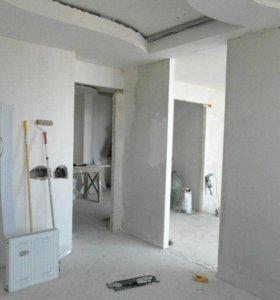 Шпаклевка,Косметический ремонт квартир,Отделка