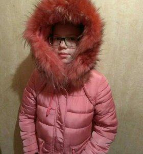 Пуховик  куртка для девочек