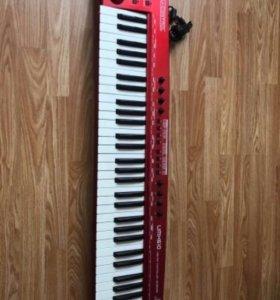 Midi - клавиатура Behringer UMX 610 ucontrol