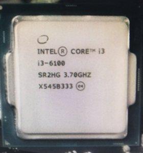 Процессор Core i3 6100
