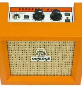 Гитарный усилитель ORANGE CR3 MICRO CRUSH