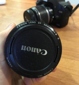 Кэнон 500 д +2 объектива
