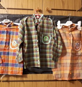 Рубашки новые для мальчика