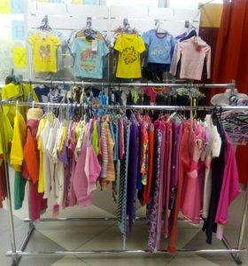 Отдел с детской одеждой
