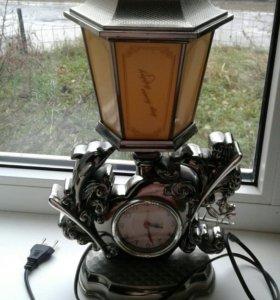 Часы ночник