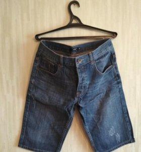 Мужские джинсовые шорты oodji (размер 31)