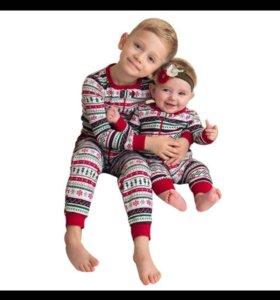 Новые детские пижамы трикотажные