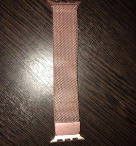 Ремень розовый для Apple Watch