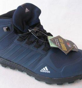 Кроссовки Adidas Terrex Clima Высок.Синий Нубук 43