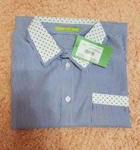 Новая рубашка дл.рукав 152 р-р