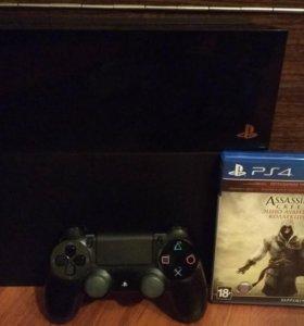 Sony Playstation 4 (500гб) ps4 плюс диск