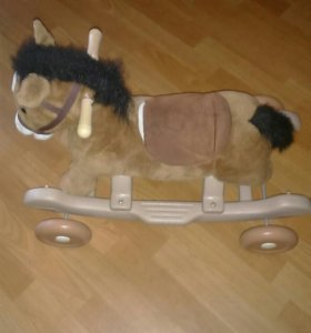 Лошадка каталка -качалка
