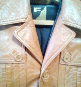 Мужской пиджак из кожи р.46-50