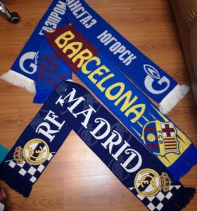 Спортивные шарфы новые!!!