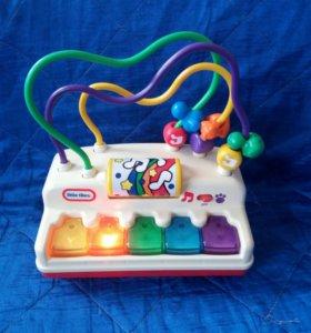 Музыкальное пианино little tikes