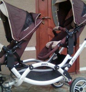 Продам коляску для двойни или погодок