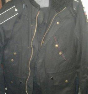 Куртка мужская зимняя военная.