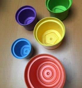 Набор стаканчиков для песочницы