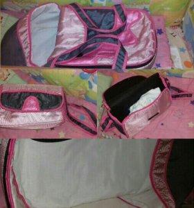 Сумка переноска для младенцев и сумка