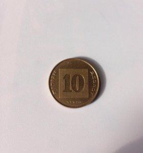 Израильская монета