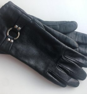 Женские кожаные перчатки 6,5 р