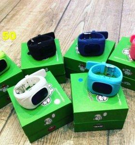 Умные детские часы с GPS - модель Q50