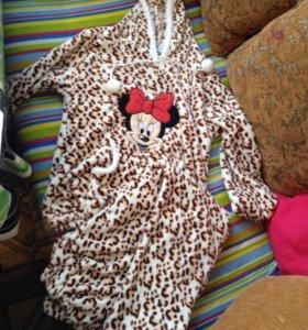 Пижама тёплая с Минни
