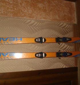 горные лыжи (комплект)