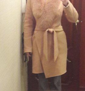 Зимнее пальто в хорошем состоянии