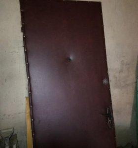 Дверь металлическая.Без коробки