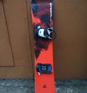 Сноуборд Black fire