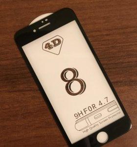 4D стекло IPhone 8