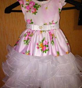 Платье пышное красивое