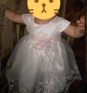 Платье для девочки р.80