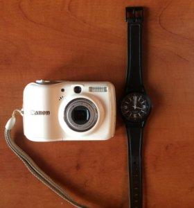 Фотоаппарат и часы