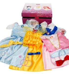 Новые костюмы принцесс Disney 4шт