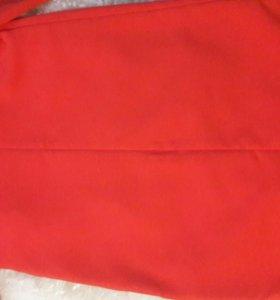 Ярко красное платье MOHITO