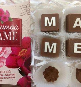 Шоколадный набор на праздник маме