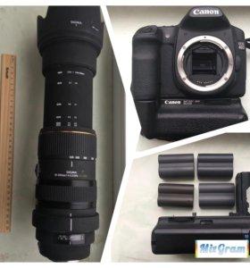 Canon 40D и Sigma 50-500